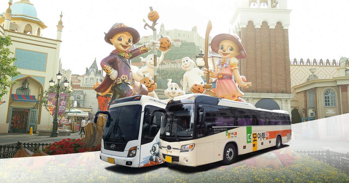 [Sale] Everland 1 Day Ticket and Round Trip Shuttle Bus